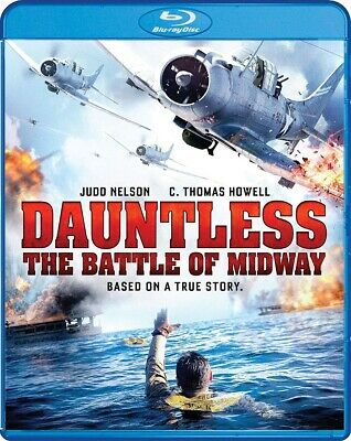 Dauntless: The Battle of Midway BLU-RAY 2019 BRAND NEW FAST SHIPPING