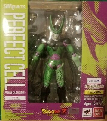 DRAGON BALL Z PERFECT CELL EVENT EXCLUSIVE BARCELONA S.H FIGUARTS BANDAI NEW