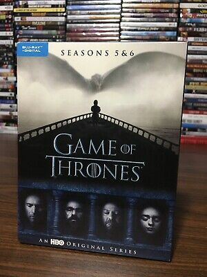 Game Of Thrones Seasons Five 5 and Six 6 Blu ray Set Includes Digital NEW