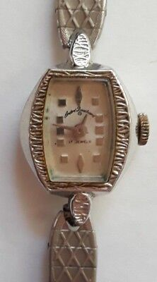 VINTAGE ANTIQUE 1930s ANDRE BOUCHARD ART DECO WOMEN'S WATCH VERY PRETTY