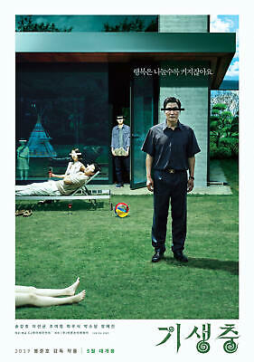 Art Poster Parasite 2019 Movie Kang-ho Song New Gift G-325