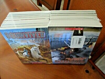 NEW Lot 1-19 I Survived Book SERIES Set Lauren Tarshis NEW GREAT MOLASSES FLOOD