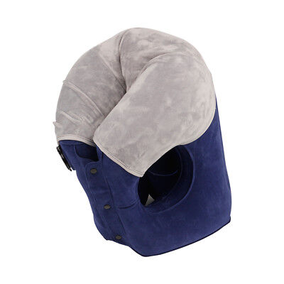 Inflatable Travel Pillow UPGRADED Airplane Pillow Head and Neck Rest Pillow
