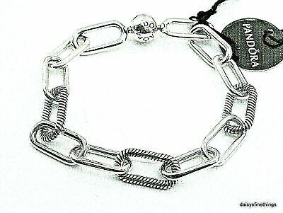 Nwt Authentic Pandora Bracelet Me Collection My Chunky Link #598373 Hinge Box