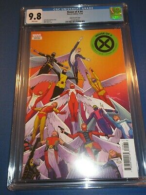 House of X #4 Cabal Variant X-men Hot Title CGC 9.8 NM/M Gem Wow