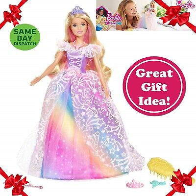 Dreamtopia Barbie Doll Playset Kids Toys Girls Toy Figures Princess Dolls Girl