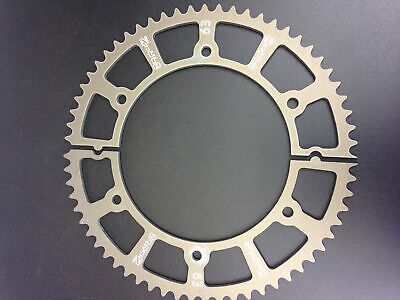 Nitro Manufacturing 63 Tooth Hard-Anodize Go Kart Racing Split Gear Sprockets