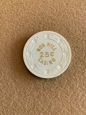 $0.25 Nob Hill Casino Las Vegas - Must Have Chip! Hard To Find! Good Condition!