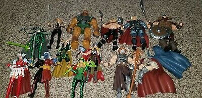 Marvel legends Thor sdcc Hela Bor Loki Odin baf loose
