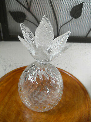 "8"" Clear Crystal Pineapple Home Decor"