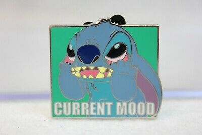 Disney Parks Pin Current Mood Mystery Set Stitch