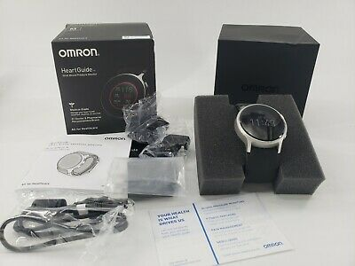 Omron Wrist Blood pressure Monitor HeartGuide BP8000-M HEM-6411T-ZM Medium
