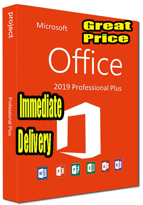 Office 2019 Pro Plus License Key | Instant Delivery Key Activation Code, Online