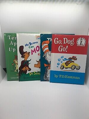 Lot Of 4 Dr Seuss Beginner Books