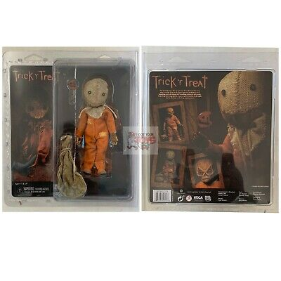 "SAM Neca CLOTHED TRICK R' TREAT Horror 8"" Inch Scale 2019 FIGURE * In Stock *"