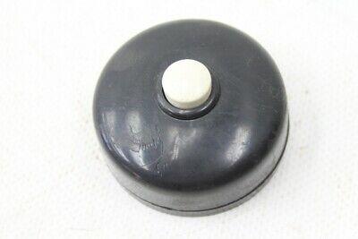 Old Bakelite Switch Pushbutton Light Switch Exposed Ap Button Bell Ring