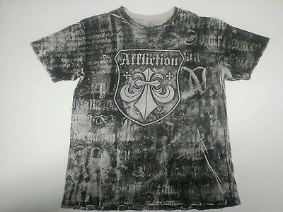 Xtreme Couture by Affliction Short Sleeve T-Shirt Mens SANDSTONE Gray Black XL