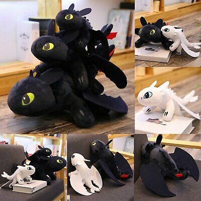 Official Licensed How to Train Your Dragon 3 Fury Plush Toothless Doll Toys Gift