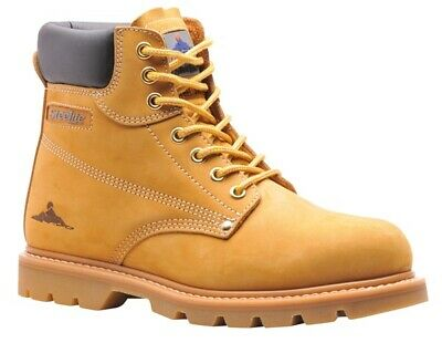 209 Honey Welted Safety Boot Uk10 FW17HOR44 Portwest Genuine Top Quality Product
