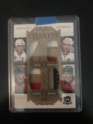 18-19 The Cup Premium Quads Florida Panthers 3/5!! Patches