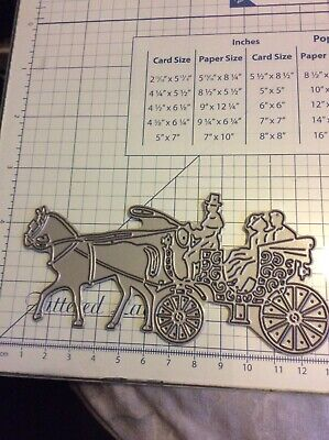 Tattered Lace Die Horse and Carriage