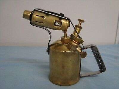 Vintage / Antique Blow Torch,Brass, Made By Companion.