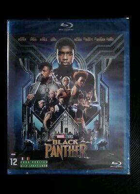 Marvel Black Panther Blu Ray Neuf Sous Blister