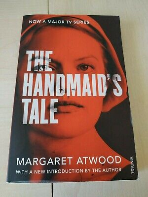 The Handmaids Tale by Margaret Atwood paperback read once