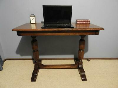 Art Deco Jacobean Tudor Hall Display Lamp Console Table Desk Sideboard Tv Stand