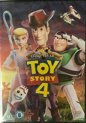 Toy Story 4 DVD 2019