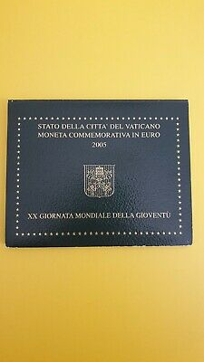 VATIKAN VATICAN VATICANO 2 EURO  2005  XXth WORLD YOUTH DAY