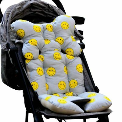 Baby Printed Stroller Pad Seat Warm Cushion Pad mattresses Pillow Cover Chi S7T6