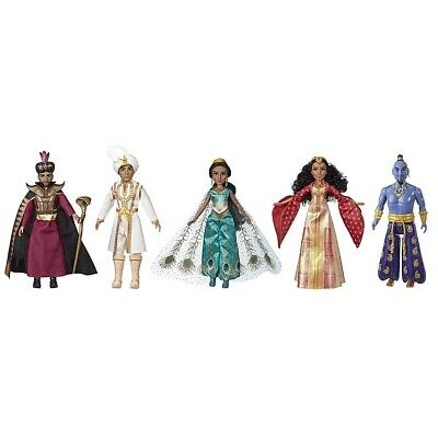Disney Aladdin Agrabah Collection, 5 Fashion Dolls with Accessories Inspired ...