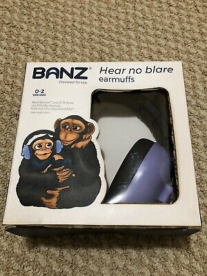 Baby Banz EM009 Plastic Hearing Protection Earmuffs for Infants