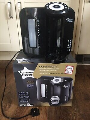 Tommee Tippee Perfect Prep Machine Baby Bottle Warmer - Black