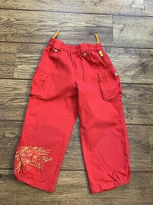 Kids Girls Red Trousers Pampolina Size 98 Age 2 Years