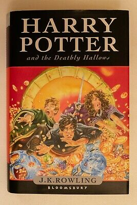Harry Potter and the Deathly Hallows J. K. Rowling (Hardback, 2007) - excellent