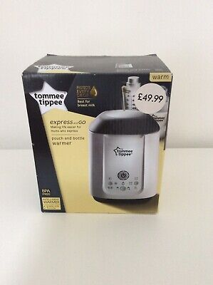 Brand New Tommee Tippee Express and Go Bottle and Pouch Warmer