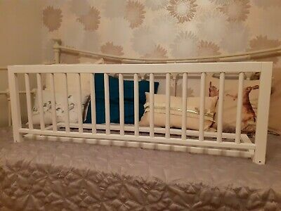 Safetots Solid Pine White Bed Rail