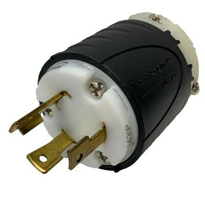 Pass & Seymour L630P 30A 250V Plug New Old Stock