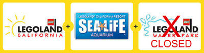 LEGOLAND 1 DAY RESORT HOPPER ADMISSION Ticket California
