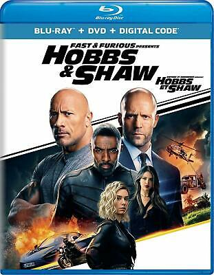 Fast & Furious Presents: Hobbs & Shaw BLU-RAY +DVD+ DIGITAL+SLIPCOVER -NEW!