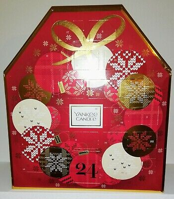 Yankee Candle Gift Set Advent Calendar - Includes 24 Candles In A Beautiful Box