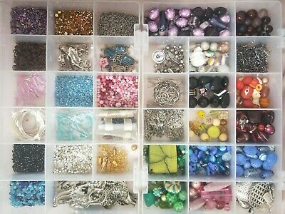 Jewellery Making kit With Beads, Wire, Chain, Links and much more