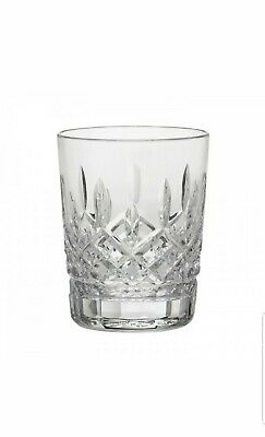 """Waterford Lismore Double Old Fashioned Glass Tumbler 4 3/8"""" Tall 12 Ounce NEW!"""