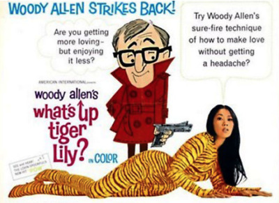 Super 8 Sound Feature Film: WHAT'S UP, TIGER LILY (1966) Comedy - WOODY ALLEN