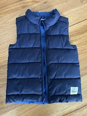 Country Road Boys Light Quilted Vest Size 8 - 9 Rrp $89.95
