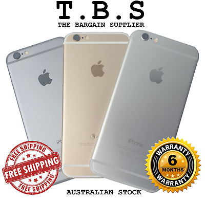 Apple iPhone 6 16/32/64GB - Grey/Gold/Silver - Unlocked - A1549 Warranty AU STK