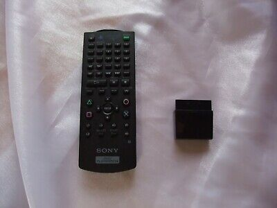 Official SONY PlayStation 2 DVD Remote Control & IR Receiver PS2 SCPH-10420