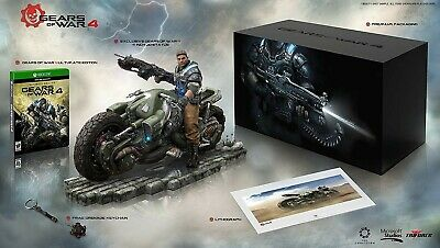 Gears of War 4: Collectors Edition (Microsoft Xbox One, 2016) / No Game Included